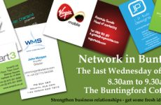Networking at The Buntingford Coffee Shop
