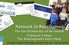 Network in Buntingford, Wednesday 25 January