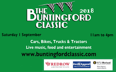The Buntingford Classic 2018