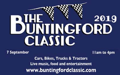 Register your Car for the Buntingford Classic