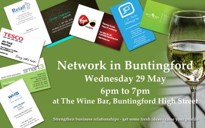 Meeting at The Wine Bar, Buntingford
