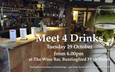 Meet 4 Drinks at The Wine Bar