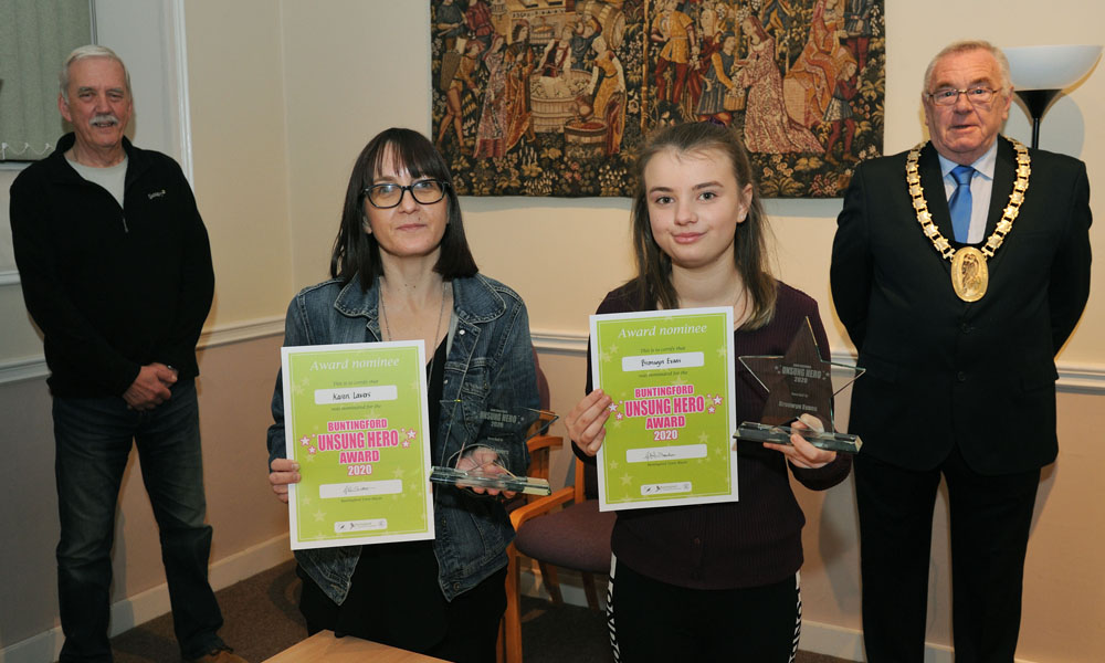The Unsung Hero Awards 2020 - Karen Lavers and Bronwyn Evans
