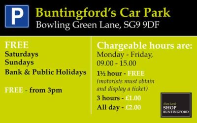Is there a high street car park in Buntingford?